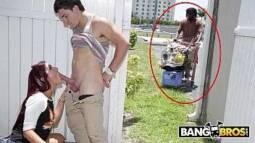 Porno sao paulo ganhando um boquete amador da vizinha