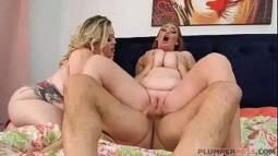 X video porno do sortudo e duas gordinhas gostosas