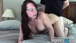 Brasil porno puta de óculos que fode com força