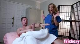 So putaria transando com cliente de massagem